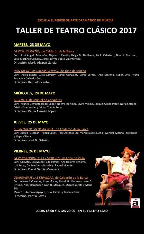 taller teatro clasico 2017