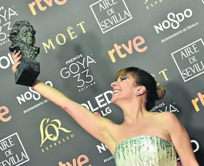 Eva LLorach gana el Goya 2019mejor actriz revelación